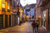 Pedestrian Area, Santa Cruz De La Palma, La Palma, Canary Islands, Spain, Europe Photographic Print by Gerhard Wild