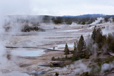 USA, Yellowstone National Park, Norris Geyser Basin Photographic Print by Catharina Lux