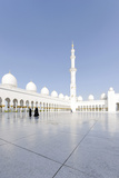 Inner Courtyard, Sheikh Zayed Bin Sultan Al Nahyan Mosque, Al Maqtaa Photographic Print by Axel Schmies