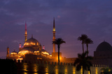 Egypt, Cairo, Landmark, Citadel with Mohamad Ali Mosque, Dusk Photographic Print by Catharina Lux