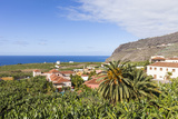 View from Tazacorte over Banana Plantations to the Sea, La Palma, Canary Islands, Spain, Europe Photographic Print by Gerhard Wild