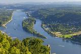 Germany, the Rhine, Siebengebirge, Bonn, Kšnigswinter, Island Nonnenwerth Photographic Print by Chris Seba