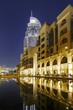 Five-Star Hotel the Address, Souk Al Bahar, Downtown Dubai, Dubai, United Arab Emirates Photographic Print by Axel Schmies