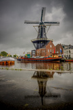 The Netherlands, Haarlem, Mill, Windmill, De Adriaan Photographic Print by Ingo Boelter