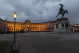 Austria, Vienna, Heldenplatz, Hofburg, Equestrian Statue Archduke Charles Photographic Print by Gerhard Wild