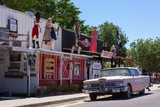USA, Arizona, Historical Route 66, Seligman, Street Scene Photographic Print by Catharina Lux