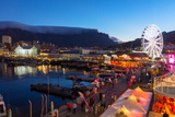 South Africa, Cape Town, V and a Waterfront, Table Mountain, Evening Photographic Print by Catharina Lux