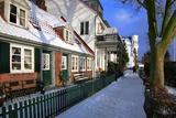Germany, Hamburg, Historical Captain's Houses in Hamburg-…velgšnne Photographic Print by Uwe Steffens