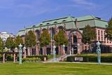Germany, Baden-Wurttemberg, Rhein-Neckar Region, Mannheim, Friedrichsplatz (Square Photographic Print by Udo Siebig