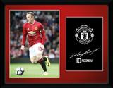 Manchester United - Rooney 16/17 Wydruk kolekcjonerski