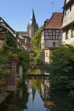 Wissembourg (Town), Old Town, Half-Timbered Houses, Water Jump, Church Photographic Print by Ronald Wittek