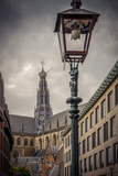 The Netherlands, Haarlem, City Centre, Market, Church, St. Bavo Photographic Print by Ingo Boelter