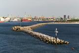 Lithuania, Klaipeda (Memel), Harbour, Kopgalis Photographic Print by Catharina Lux