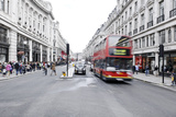 Traffic on the Regent Street, City of Westminster, London, England, Great Britain Photographic Print by Axel Schmies