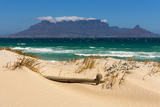 Cape Town, Table Mountain, Dune Fotografisk tryk af Catharina Lux