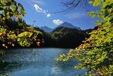 Germany, Bavaria, Sunny Autumn Day, 'Schwansee' (Lake) Near FŸssen Photographic Print by Uwe Steffens