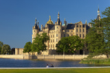 Germany, Western Pomerania, Schwerin Palace Photographic Print by Chris Seba