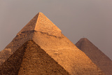 Egypt, Cairo, Pyramids of Giza Photographic Print by Catharina Lux