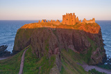 Scotland, Dunnottar Castle, Evening Light Photographic Print by Thomas Ebelt