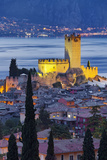Castle of Malcesine at Lake Garda, Veneto, Italy Photographic Print by Rainer Mirau