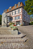Germany, Hessen, Northern Hessen, Bad Zwesten, Old Town Photographic Print by Chris Seba