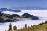 Austria, Tyrol, Sšlllandl, Kaiser Mountains, Scheffau at the Wilder Kaiser Photographic Print by Udo Siebig