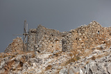 Greece, Crete, Pass of Ambelos, Windmills Photographic Print by Catharina Lux