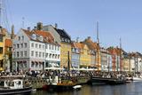 Entertainment District Nyhavn, Copenhagen, Scandinavia Photographic Print by Axel Schmies