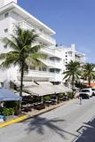 Hotels, Facade, Art Deco Hotel, Ocean Drive, Miami South Beach, Art Deco District, Florida, Usa Photographic Print by Axel Schmies