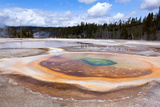 USA, Yellowstone National Park, Geyser Hill Photographic Print by Catharina Lux
