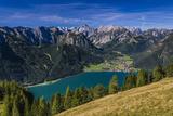Austria, Tyrol, Achensee Region, Rofan (Mountains), Maurach Am Achensee Reprodukcja zdjęcia autor Udo Siebig