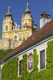 Austria, Lower Austria, Benediktinerkloster Stift Melk (Cloister) Photographic Print by Rainer Mirau