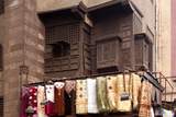 Egypt, Cairo, Islamic Old Town, Textile Market at Bab El-Ghouriya Photographic Print by Catharina Lux