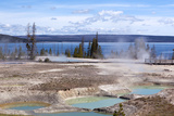 USA, Yellowstone National Park, West Thumb Geyser Basin Photographic Print by Catharina Lux