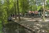 Europe, Germany, Brandenburg, Spreewald (Spree Forest), Forest Restaurant 'Wotschofska' Photographic Print by Chris Seba