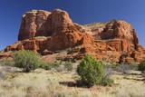 Courthouse Butte, Bell Rock Trail, Sedona, Arizona, Usa Photographic Print by Rainer Mirau