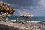 Greece, Crete, Lapetra, Beach Restaurant Photographic Print by Catharina Lux