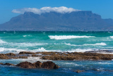 Cape Town, Table Mountain, Distant View Photographic Print by Catharina Lux