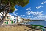 Europe, Spain, Majorca, Fishing Village Porto Colom, Harbour Photographic Print by Chris Seba