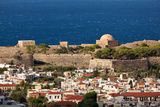 Greece, Crete, Rethimnon, Fortezza, Distant View Photographic Print by Catharina Lux