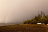 USA, Yellowstone National Park, Yellowstone Lake, Rainbow Photographic Print by Catharina Lux