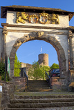 Europe, Germany, Weserbergland (Weser Mountainous Country), Lower Saxony, Pile Castle Gate Photographic Print by Chris Seba