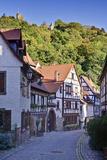 Germany, Baden Wurttemberg, Odenwald (Region), Bergstra§e (Region), Weinheim (Town Photographic Print by Udo Siebig