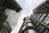 Modern Architecture, Lloyd'S, Lloyds Building, Tower by Architect Richard Rogers, London Reprodukcja zdjęcia autor Axel Schmies