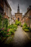The Netherlands, Haarlem, Street, Lane Photographic Print by Ingo Boelter