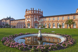 Europe, Germany, Hesse, Wiesbaden, Schloss Biberach on the Bank of the Rhine Photographic Print by Chris Seba
