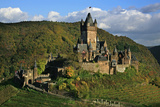 Autumn Day at the Imperial Castle Near Cochem on the Moselle Photographic Print by Uwe Steffens