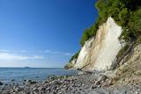 Germany, the Baltic Sea, Western Pomerania, Island RŸgen, Chalk Rocks, Ferry, Horizon Photographic Print by Chris Seba