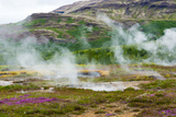 Iceland, Geothermal Field, Geyser Photographic Print by Catharina Lux