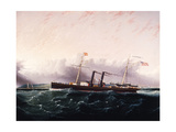 C.S.S. Chickamauga Ca. 1860-1880 Giclee Print by James Edward Buttersworth